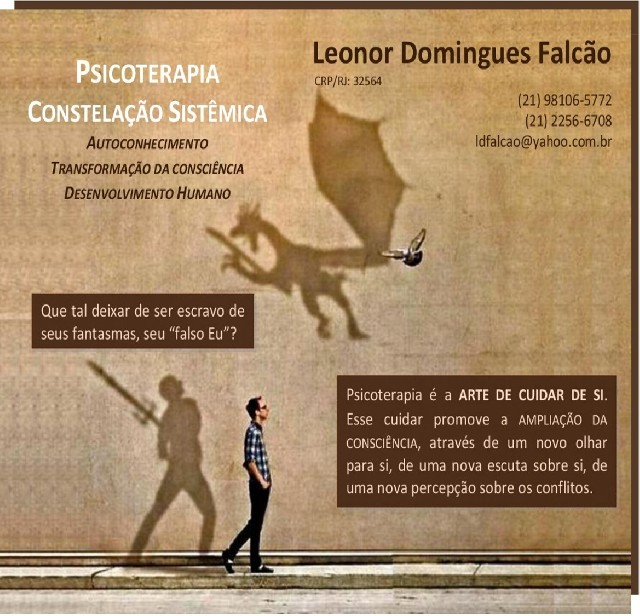 Foto 1 - Psicoterapeuta Leonor Domingues Falcão